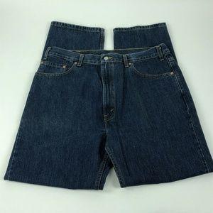 Levis 505 Jeans Sz 40x32 Regular Fit Straight Leg